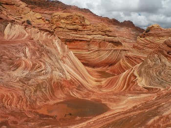 Hiking the Wave in Vermilion Cliffs National Monument